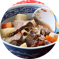Beef Stew with Radish
