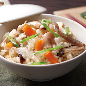Gomoku Rice (Japanese Mixed Rice)