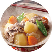 Nikujaga( Simmered Meat and Potatoes)